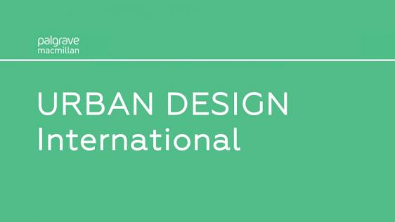 URBAN DESIGN International